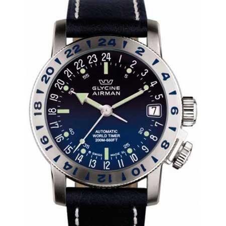 Часы Glycine Airman 17 реф. 3865.18-66